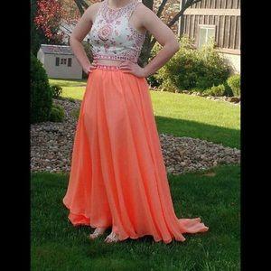 Prom 2 piece dress